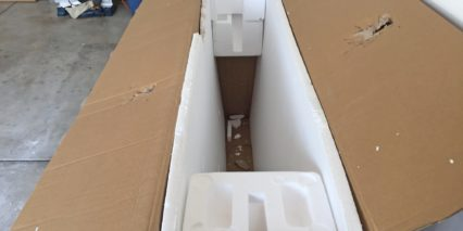 Voltbike Enduro Styrofoam Box Great Packing
