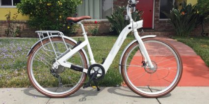 Besv Cf1 Electric Bicycle White