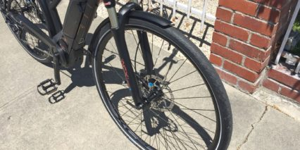 Bulls Cross Lite E Step Thru Suntour Cr Nxc Lite Air Fork