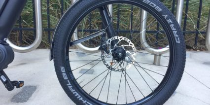 Cannondale Contro E Rigid Alloy Fender Schwalbe Crazy Bob Tires