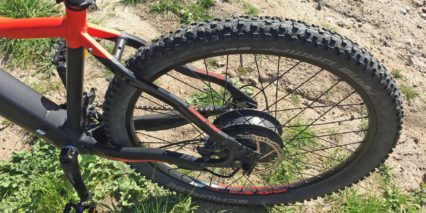 Easy Motion Evo 27 5 Pro Rear Rack Bosses Schwalbe Racing Ralph Tires