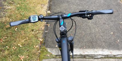 Cube Cross Hybrid Pro 400 Ergonomic Grips Bosch Purion Display