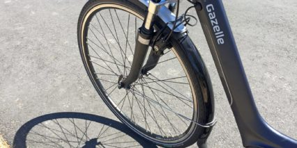 Gazelle Arroyo C8 Hmb Paint Matched Spring Suspension Fork 50 Mm Travel