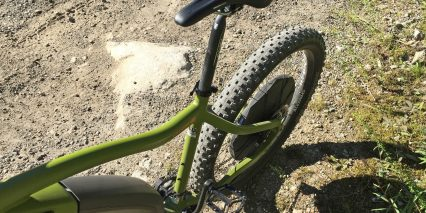 Ohm Mountain Branded Ergon Sport Gel Smc4 Saddle