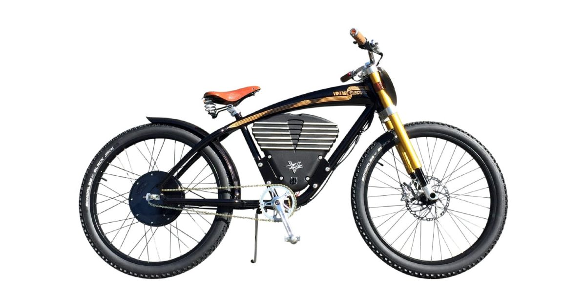Vintage Electric Scrambler Bike Review