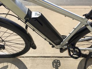 Juiced Bikes Crosscurrent S 48 Volt Lithium Ion Battery Pack Removable Two Bottle Cage Mounts