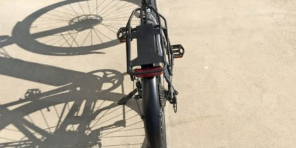Juiced Bikes Crosscurrent S Custom Rear Rack With Rear Reflector