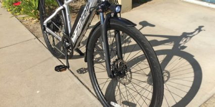 Juiced Bikes Crosscurrent S Sr Suntour Nex Coil Suspension Fork With Lockout