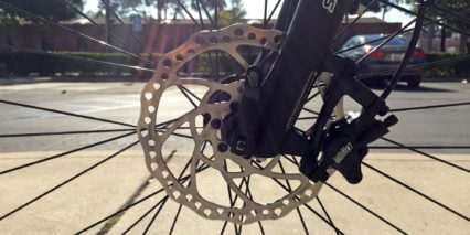 Juiced Bikes Crosscurrent S Tektro Hydraulic Disc Brakes With 180 Mm Rotors