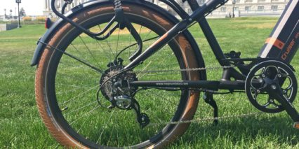 Magnum Cruiser 8 Speed Shimano Acera With Derailleur Guard