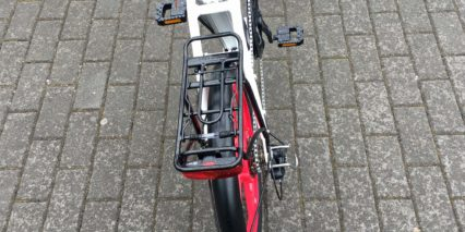 Ness Icon Alloy Rear Rack With Independent Spanninga Duxo Light