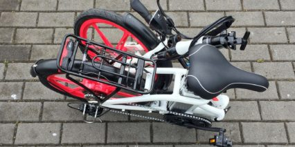 Ness Icon Small Folding E Bike