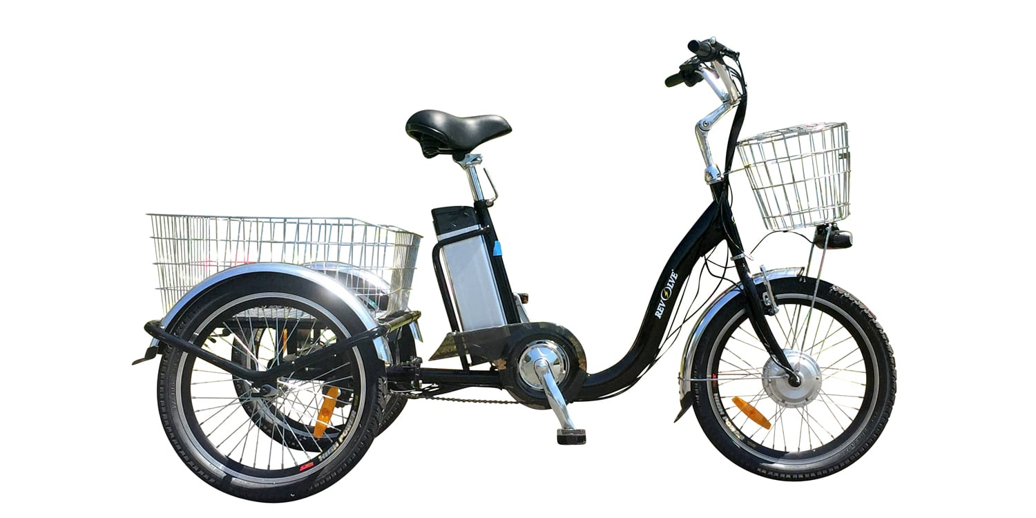 revolve electric vehicles steady eddie tricycle review. Black Bedroom Furniture Sets. Home Design Ideas