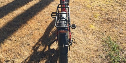 Teo S Limited Alloy Fat Bike Rack With Independent Led Light