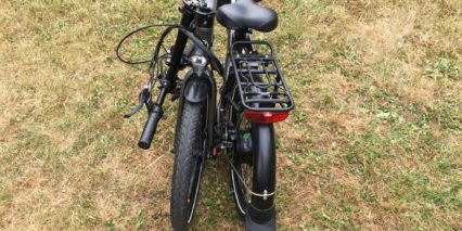 Evelo Quest One Folding Ebike Back