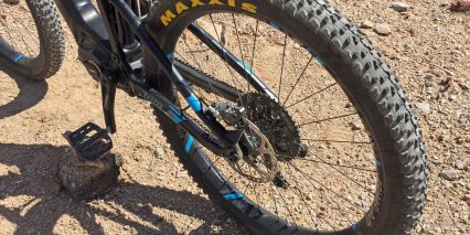Focus Jam Squared Plus Pro Maxxis Rekon Plus Tires Boost Setup
