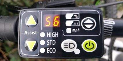 Haibike Sduro Hardnine 4 0 Basic Control Panel With Led Backlighting