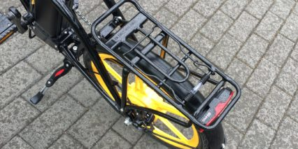 Ness Rua 25 Kg Rear Rack Adjustable Kickstand And Light