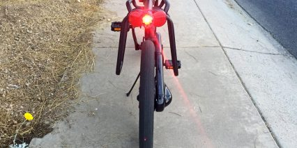 Gocycle Gs Optional Rear Light Busch Muller With Reflectors Pannier Hangars