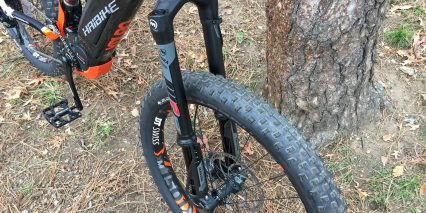 Haibike Xduro Allmtn 8 0 Magura Boltron Inverted Suspension Fork Air 150 Mm Travel