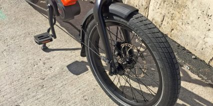 Tern Gsd 15 Mm Thru Axle Rigid Alloy Fork 80 Mm Plastic Fenders