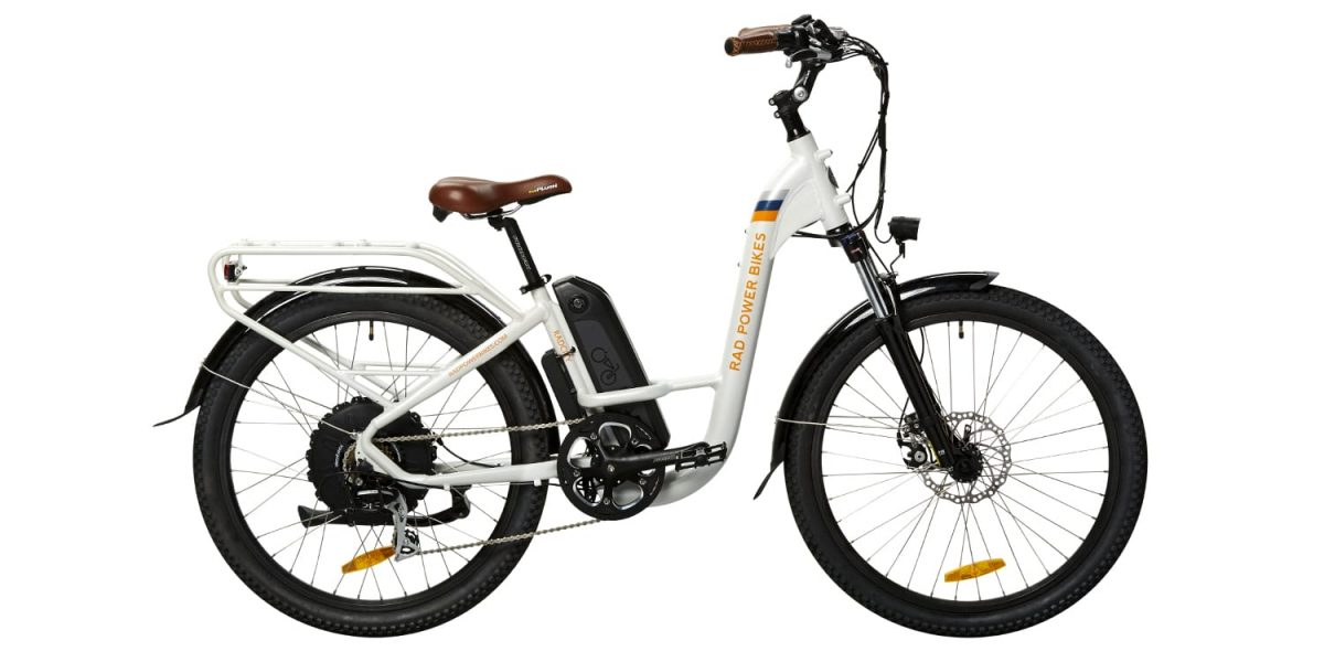 2018 Rad Power Bikes Radcity Step Thru Electric Bike Review