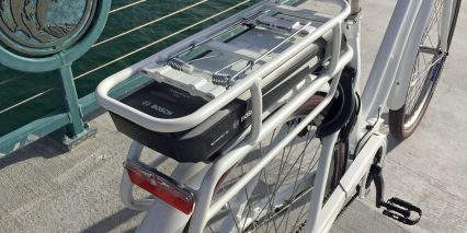 Bulls Cruiser E Bosch Rear Rack Mounted Powerpack 500