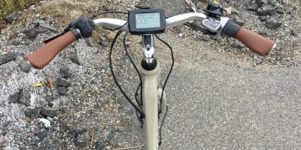 Piaggio Wi Bike Comfort Plus Continental Lcd Display Panel Removable