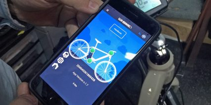 Piaggio Wi Bike Comfort Plus Smart Phone App Ebike Status Screen