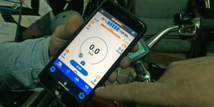 Piaggio Wi Bike Comfort Plus Smartphone App Standard Screen Speed