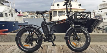 2018 Rad Power Bikes Radmini Black With Fenders And Racks