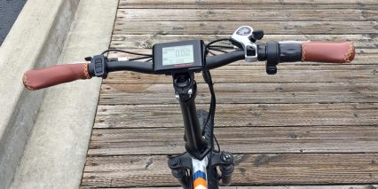 2018 Rad Power Bikes Radmini Large King Meter Display With Shimano Thumb Shifter