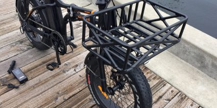 2018 Rad Power Bikes Radmini Optional Front Rack And Basket