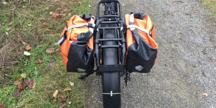 2018 Rad Power Bikes Radrover Rear Rack With Optional Fremont Pannier Bags
