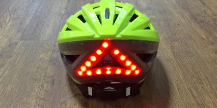 Lumos Helmet Back Red Led Lights