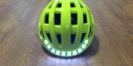 Lumos Helmet Front White Led Lights