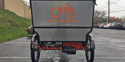 Rad Power Bikes Radburro Back