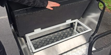 Rad Power Bikes Radburro Pedicab Seat Storage Box