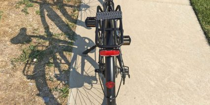 Magnum Metro Plus Custom Aluminum Rear Rack With Bungee Straps