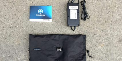 Piaggio Wi Bike Active Plus 4 Amp Battery Charger Bag And Manual