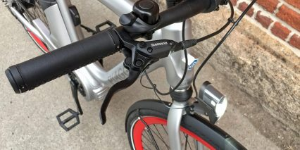Piaggio Wi Bike Active Plus Shimano M315 Brake Levers Flick Bell