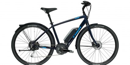 Trek Verve Plus High Step Deep Dark Blue Stock