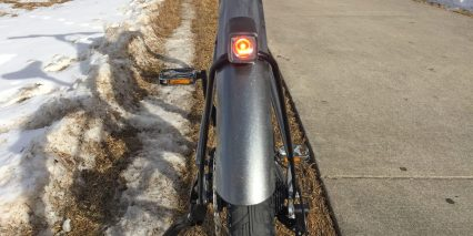 Trek Verve Plus Integrated Flare R Backlight Blinking 35 Lumens