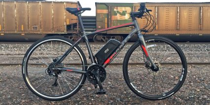 Electric Bike Outfitters 48v Burly Kit Installed On Giant Road Bike