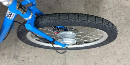 Electric Bike Outfitters 48v Cruiser Kit Front Wheel Example