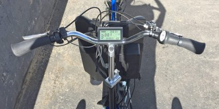 Electric Bike Outfitters Clydesdale 2 0 Kit Lcd Display Panel And Throttle