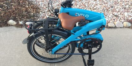 Evelo Quest Max Folded Right Side Belt Drive
