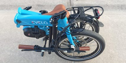 Evelo Quest Max Folding Ebike Handlebar