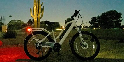2018 Surface 604 Rook Ebike Lights At Night