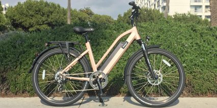 Amego Infinite Metallic Gold Electric Bike